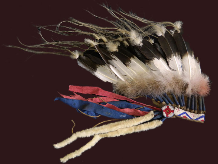 Plains Indian (Sioux) Headdress / Bonnet