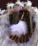 back of Hollow Horn Bear headdress