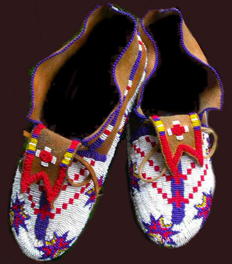 Plains Indian Moccasins
