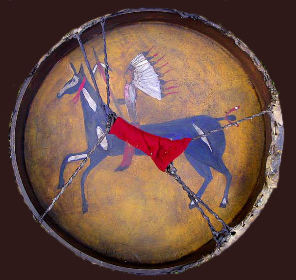 Teton Sioux Drum