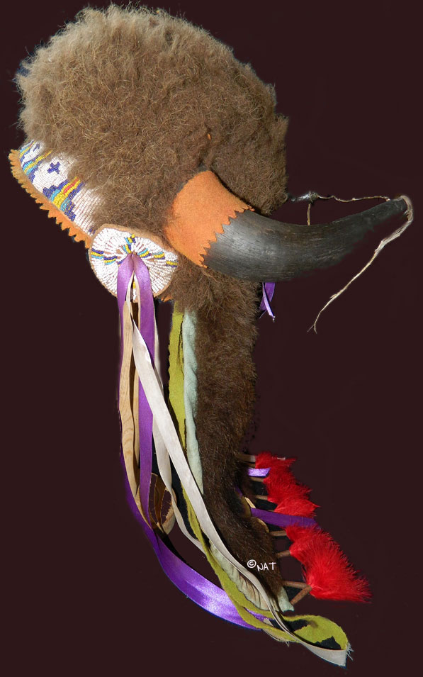 Buffalo Horn Headdress