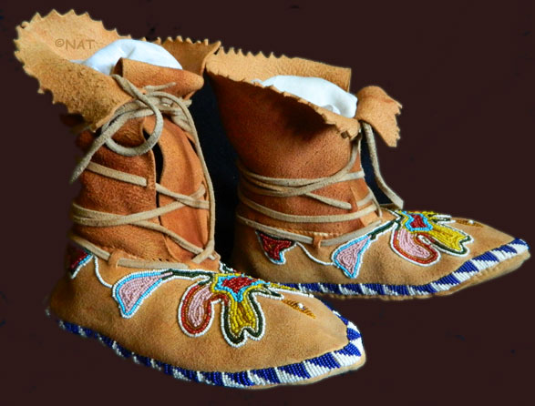 Moccasins Of The Plains Indian Sioux Cheyenne Southwest