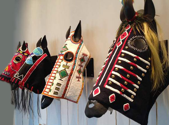 Plains Indian Horse Masks