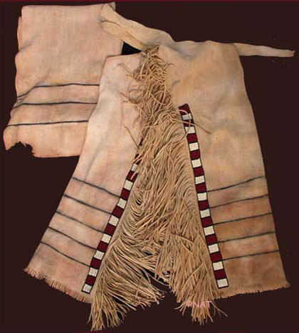 Beaded Lakota Sioux Leggings