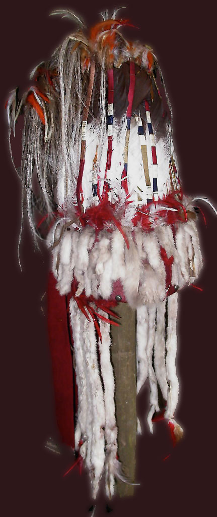 Blackfoot stand-up headdress