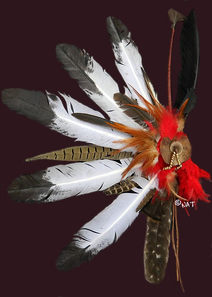 native american hair ornament