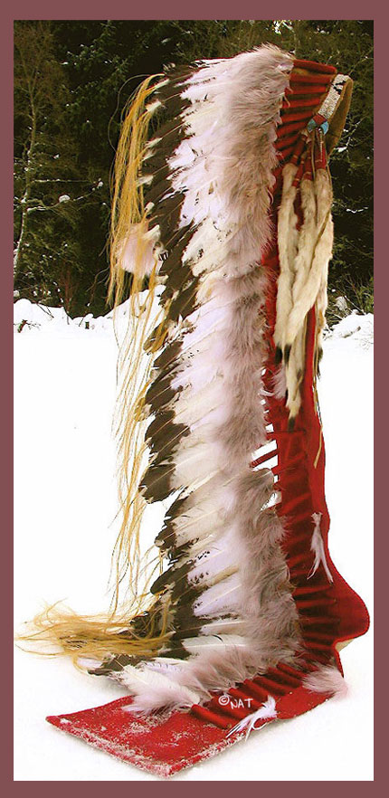 Sioux Trailer Headdress