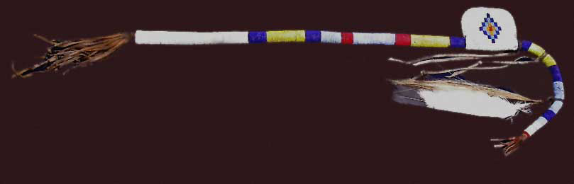 plains indian coup stick