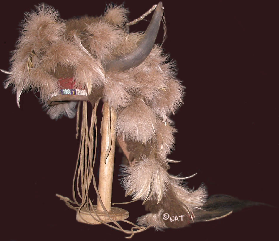 Old Buffalo Bull Headdress - Blackfeet