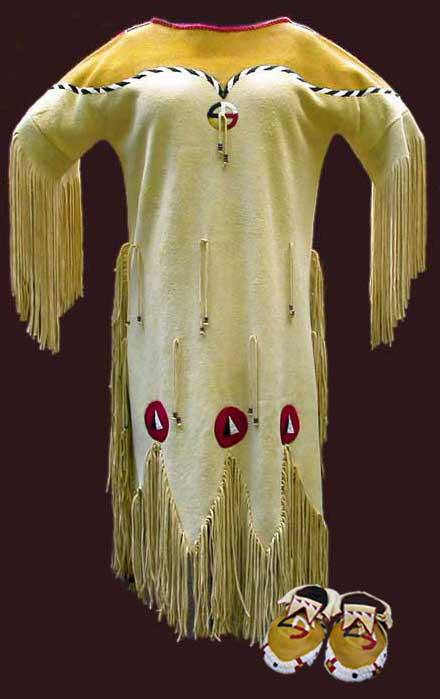 Sioux Wedding Dress Native American Indians Clothing