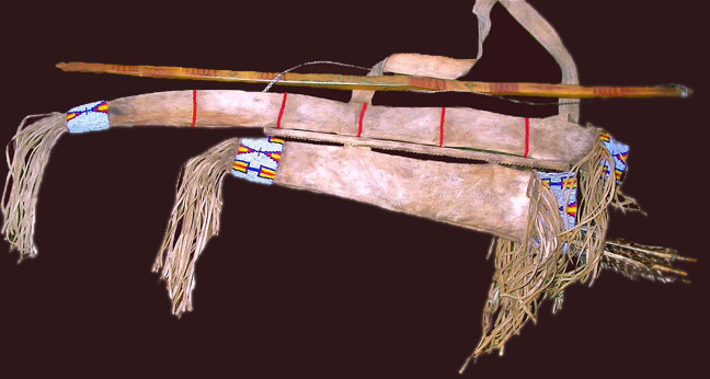 Lakota Sioux Bow case quiver
