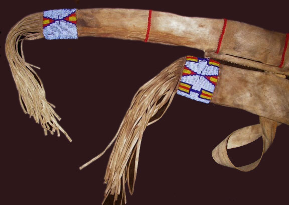 plains indian quiver and bow case