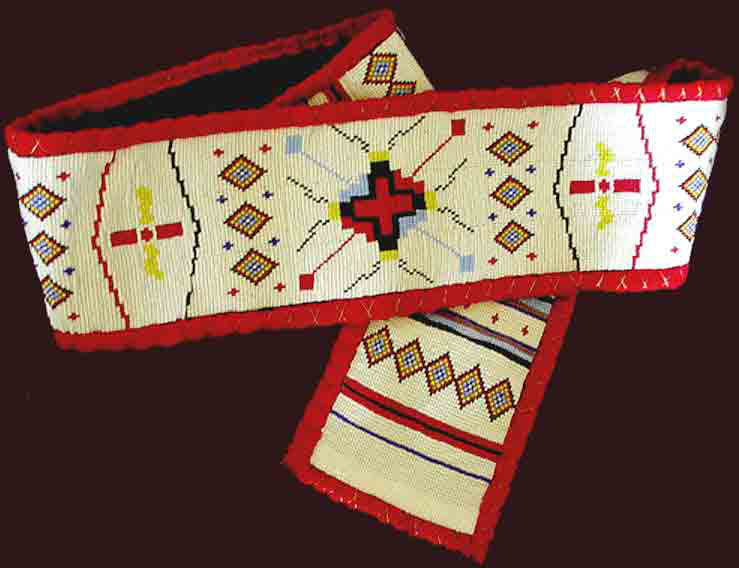 ceremonial beaded belts