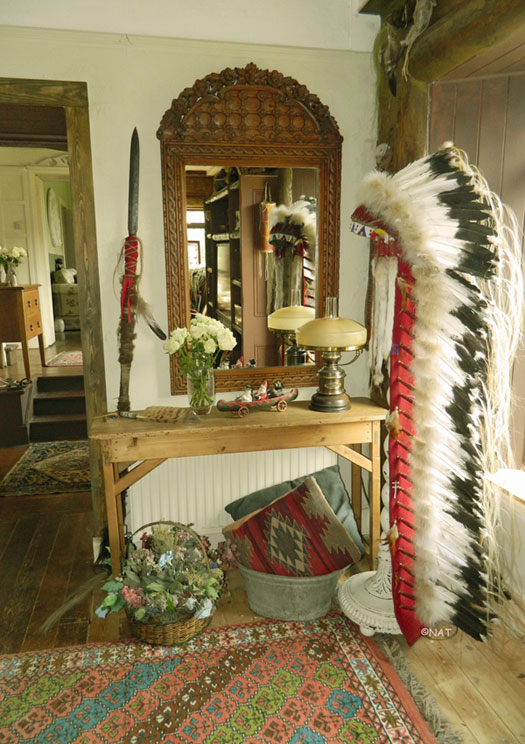 Native american living room decor for Native american interior design
