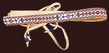 sioux beaded hat band