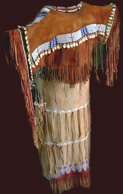 Cheyenne Buckskin Dress | Male Models Picture