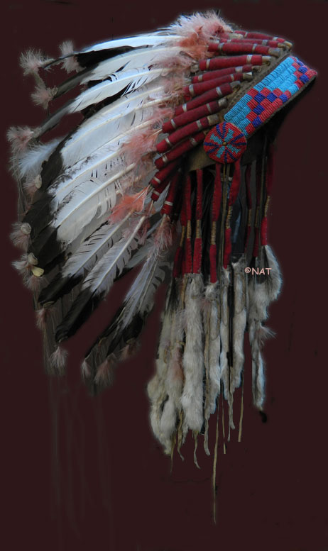 Hunkpapa Sioux Headdress