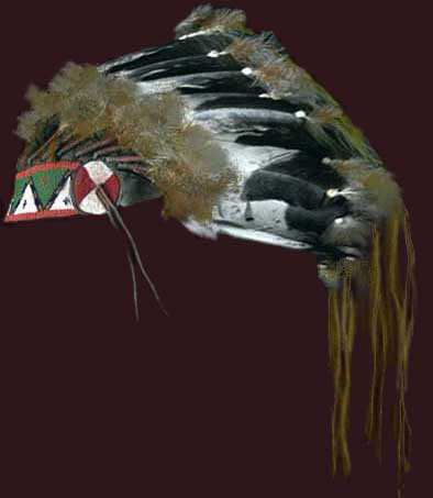 Lemhi Shoshone Headdress