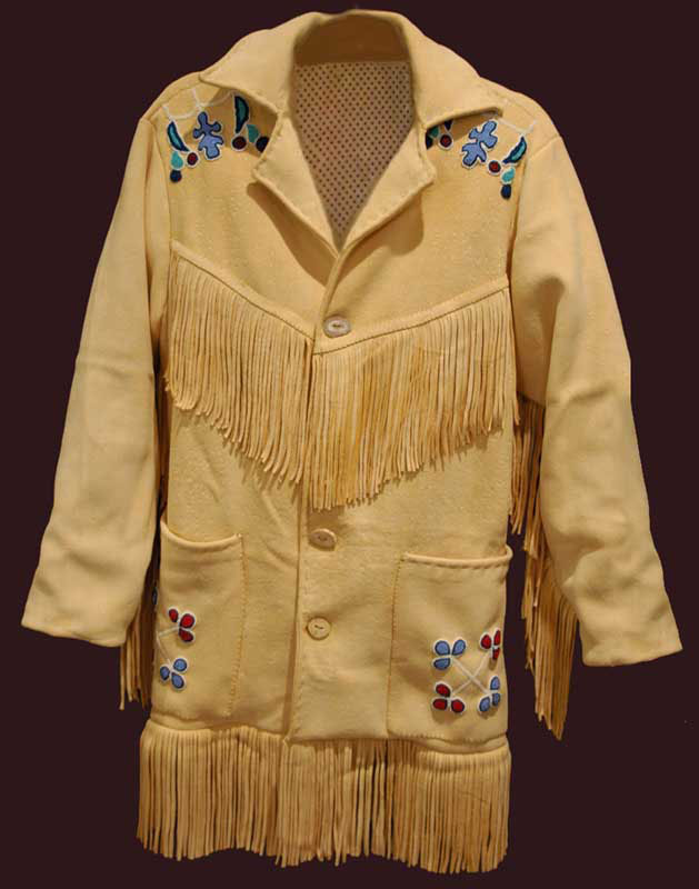 Beaded Buckskin Coat