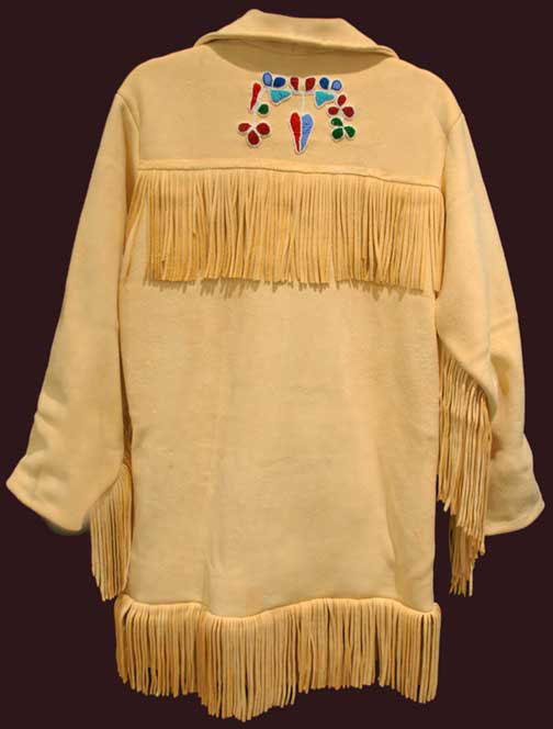Beaded Buckskin Jacket