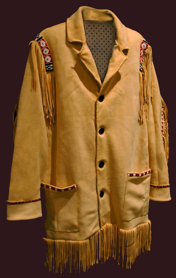 Plains beaded coat
