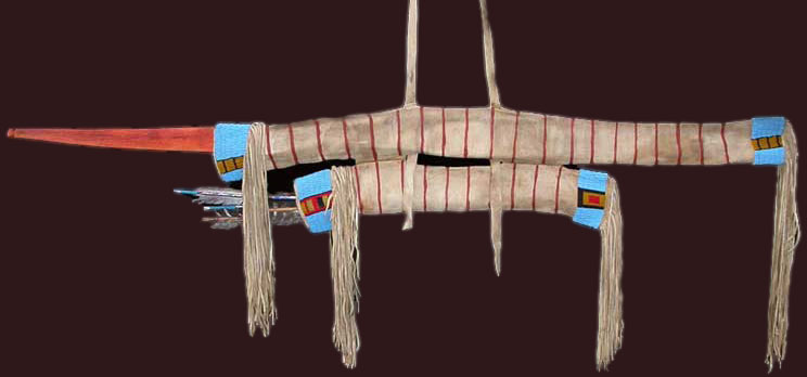 Lakota Sioux bow case / Sioux quiver