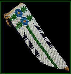 Plains Indian Knife Sheath