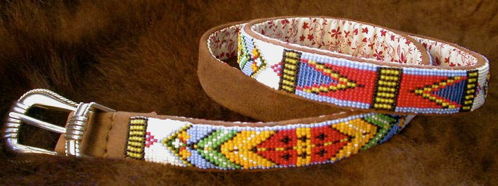Native American Indian Beaded Belts