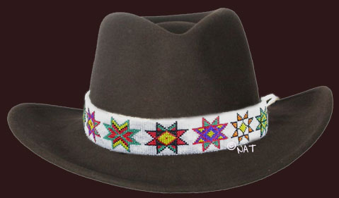 Sioux Star Hat Band