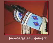 plains indian bow cases and quivers