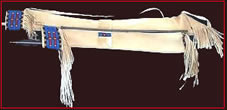 plains indian bowcase